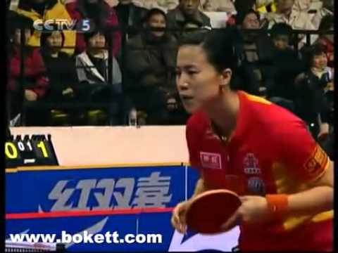 朴美英 박미영 Park Mi Young Korea wang nan 王楠 China  Ping Pong 北京國際乒乓球女子對抗賽