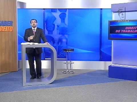 TV JUSTIÇA - Direito do Trabalho - Aula 1