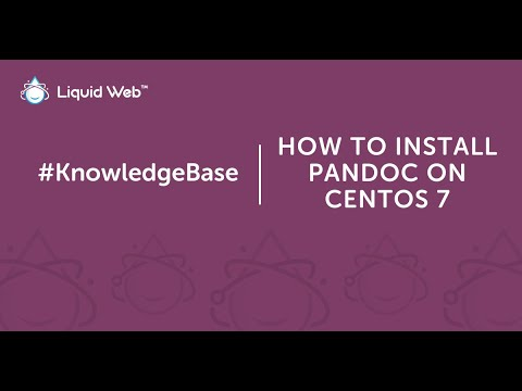 How to Install Pandoc on CentOS 7