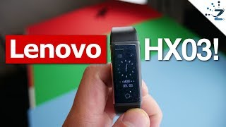 Lenovo HX03W Smartband Unboxing & Quick Review!