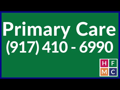 Primary Care Doctors In New York - HFMC Primary Care