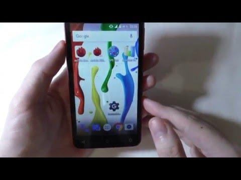 Бюджетный Смартфон Fly FS505 Nimbus 7