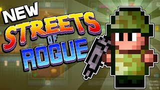 THE COMPASSIONATE SOLDIER - Streets of Rogue Gameplay PC - Steam 2018