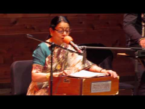 Ei Sundar Swarnali Sandhya / Live Performance By Sriradha Banerjee