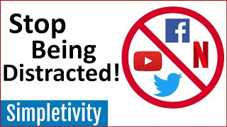 How to Stop Distractions & Temptations (Cold Turkey Blocker)