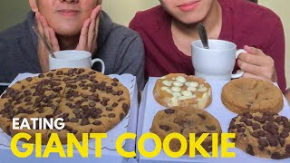 EATING GIANT CHOCOLATE CHIP COOKIE | Czeann Reyes