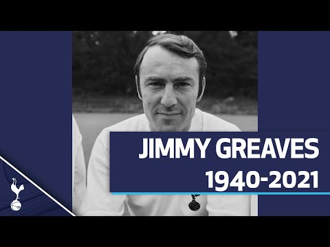 Jimmy Greaves: 1940-2021 |  THE BEST SPURS PLAYER