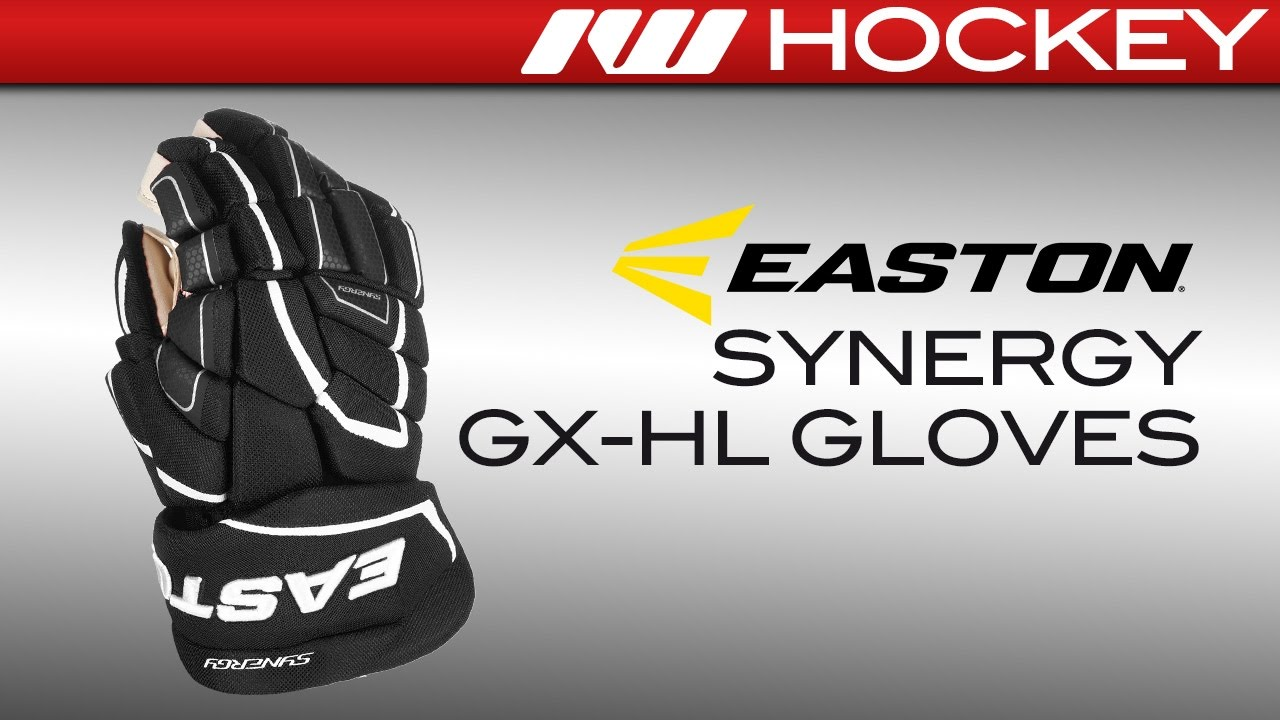 d727880e309 Easton Synergy GX-HL Hockey Gloves Review - YouTube
