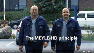The MEYLE Mechanics explain the MEYLE-HD principle
