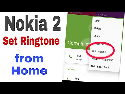 Nokia 230 - How to Set Up or Change Ringtone