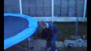funny trampoline accidents Thumbnail