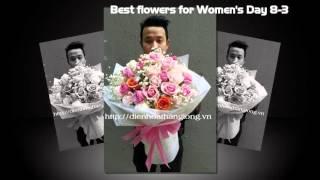 Những bó hoa đẹp nhất ngày 8-3 tại công ty Điện Hoa Thăng Long