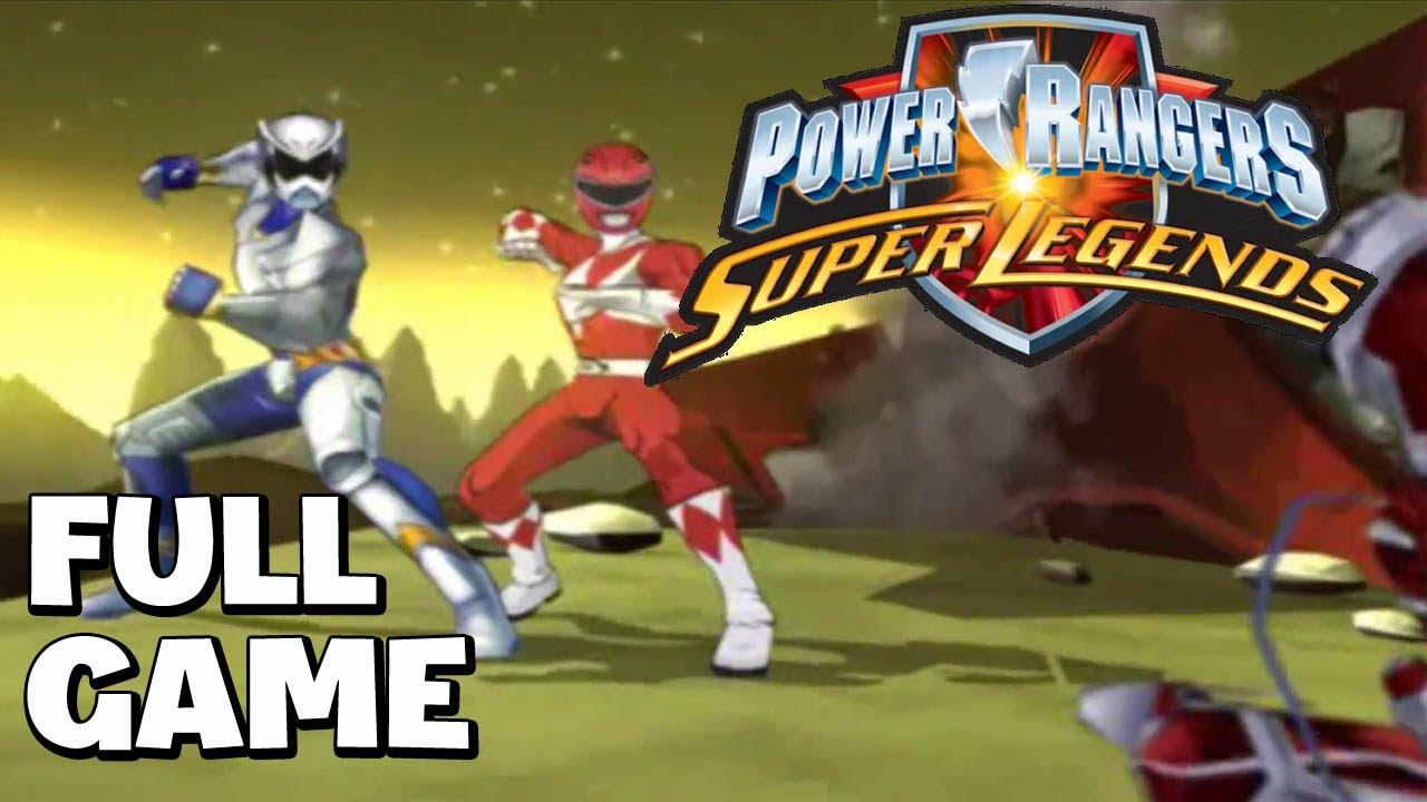 Download Power Rangers: Super Legends walkthrough FULL GAME   Longplay