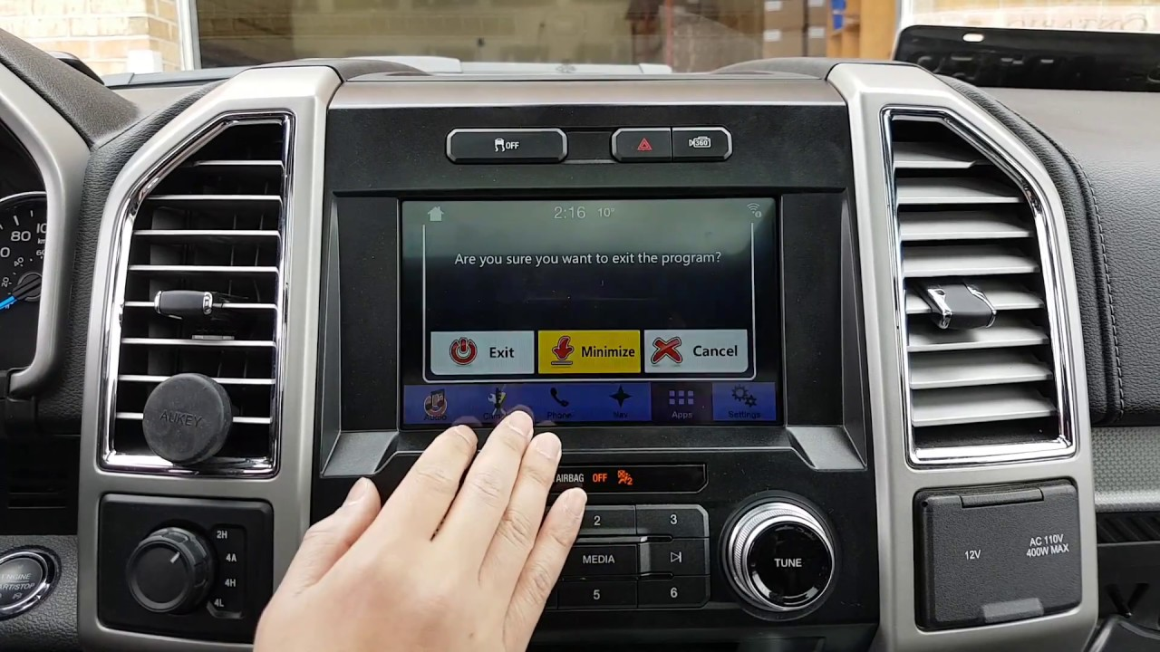 Installation Adding Backup Reverse Camera Navigation Hdmi Sync3 Ford Harness Rostra Wire Bmw 5l4oe Youtube Premium