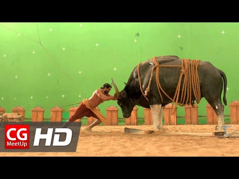 Making of Baahubali VFX - Bull Fight Sequence by Tau Films | CGMeetup