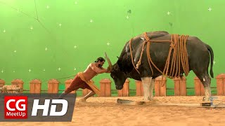 Making of Baahubali VFX - Bull Fight Sequence by Tau Films