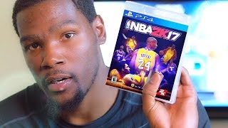 kevin durant plays nba 2k17 parody how kevin durant will play nba 2k17 gameplay parody