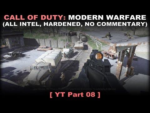 Call of Duty 4: Modern Warfare walkthrough 08 (All intel, Hardened, No commentary ✔) thumbnail