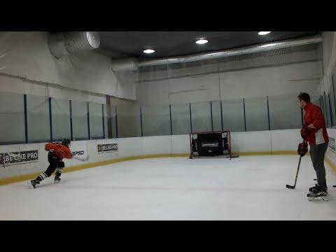 Видео: Даниэль Ростовцев (Израиль). Хоккейная подготовка к сезону на базе ХТЦ BE LIKE PRO Дубровка