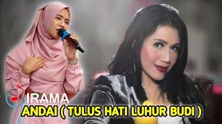 LUAR BIASA..NIA DIRGHA BERHASIL MENIRUKAN SUARA RITA SUGIARTO_ANDAI VERSI IRAMA INDONESIA