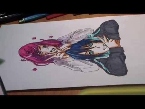 Бездомный Бог / Noragami / Drawing a Anime / Yato and Kofuku
