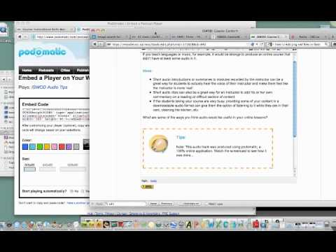 ISWOD- Embedding Code in Moodle mp4