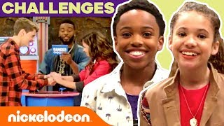 JACE vs. CREE + More Fun Challenges w/ Casts of Henry Danger, Game Shakers & More! | #TryThis