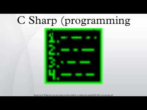 C Sharp (programming language)