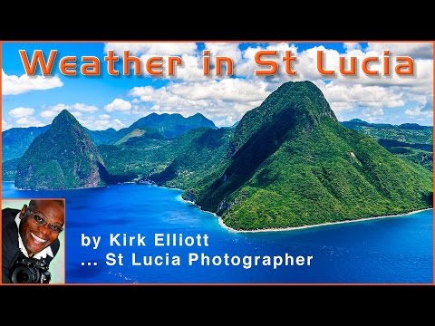 Weather in St Lucia