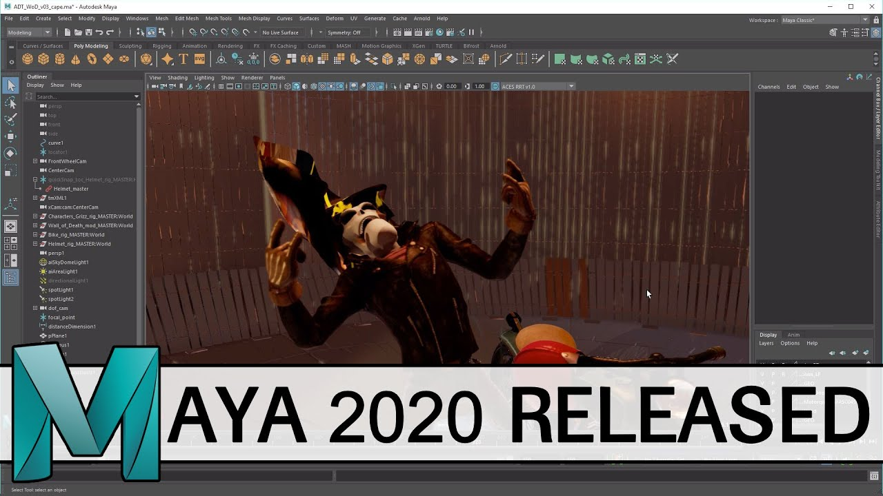 Maya 2020 Released - YouTube