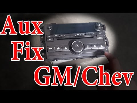 Chevy and GMC Aux Fix