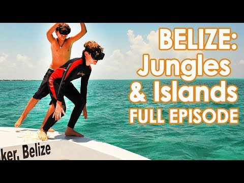 Things to do in Belize Beach and Jungle // Full Episode Family Travel