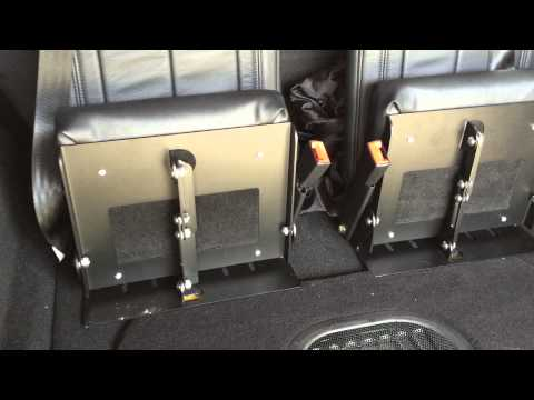 Jeep Wrangler Unlimited 3rd Row Seat >> 3rd row Jeep Wrangler Unlimited Seating from LittlePassengerSeats - YouTube