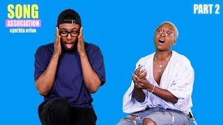 CYNTHIA ERIVO sings Brandy, Aretha Franklin, and Musiq Soulchild | SONG ASSOCIATION pt. 2