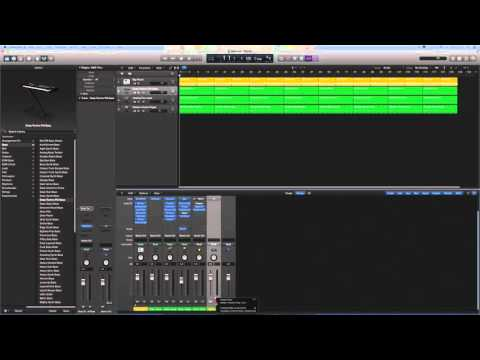 Logic Pro X Tutorials - How to do a song fade out