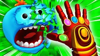 Destroying MEESEEKS With IRON MAN INFINITY GAUNTLET (Rick and Morty: Virtual Rick-Ality Gameplay)