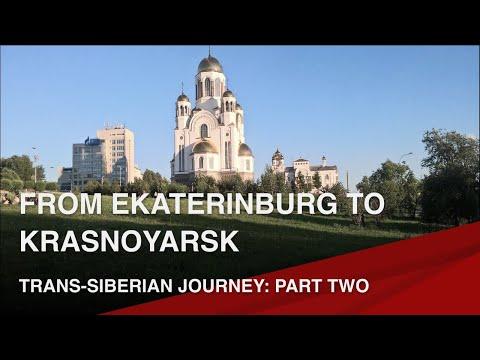 Trans-Siberian Journey │Part 2│Ekaterinburg, Novosibirsk, Krasnoyarsk