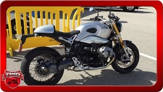 2016 BMW R NineT With Akrapovic Motorcycle Review