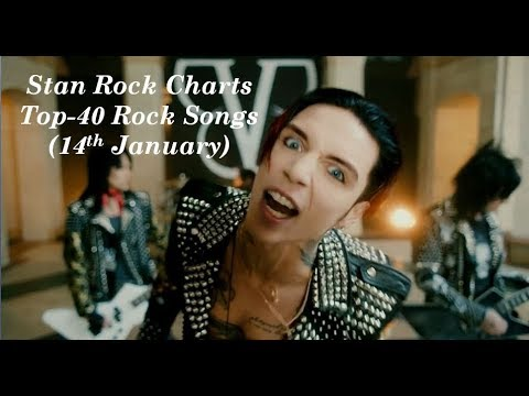 Top 40 Rock songs of the week 2018 (14th January )