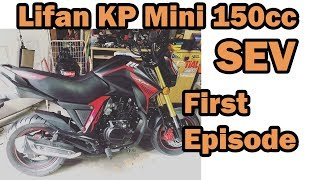 Lifan KP Mini 150cc 50 mile First LOOK and Impressions
