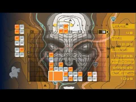 LUMINES - Challenge Mode - score 999999
