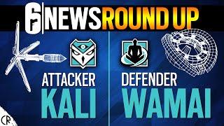 New Operator RoundUp - Shifting Tides - Kali & Wamai - Gadgets - Tom Clancy's Rainbow Six Siege