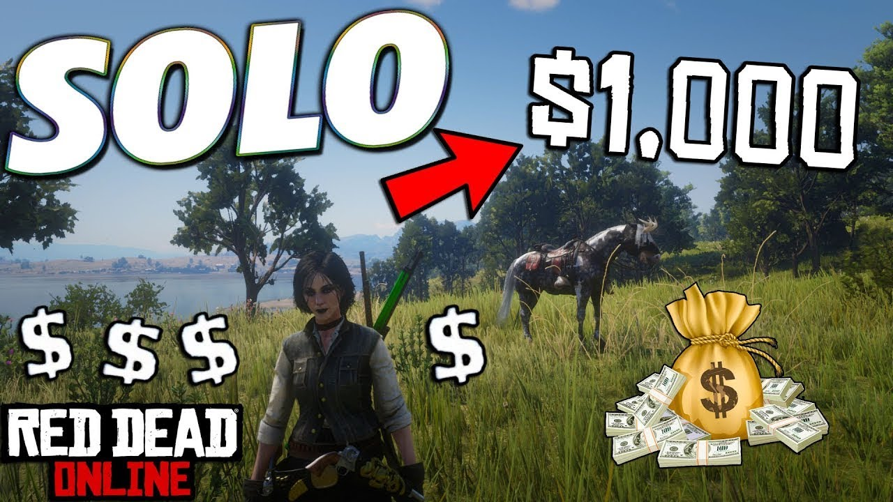 EASY *SOLO* MONEY AND XP GLITCH IN RED DEAD ONLINE! (RED DEAD REDEMPTION 2)