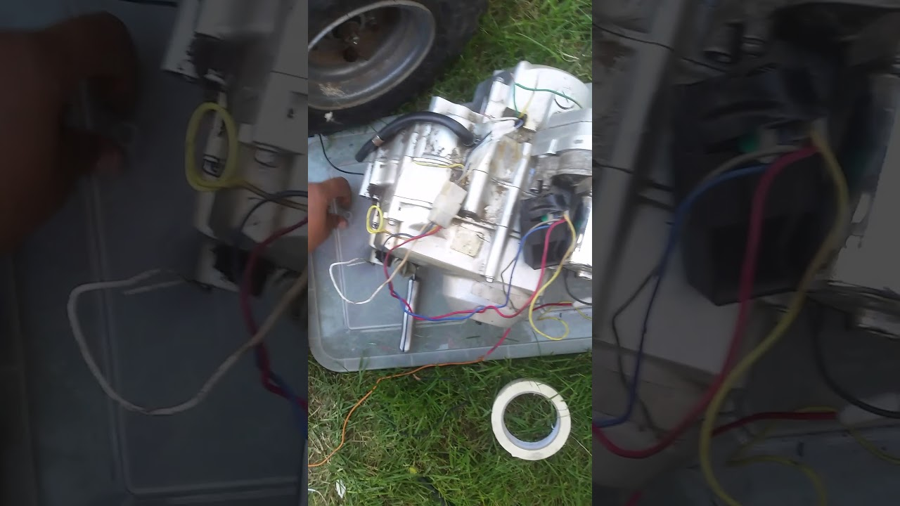 50cc chinese quad simple engine wiring youtube50cc chinese quad simple engine wiring