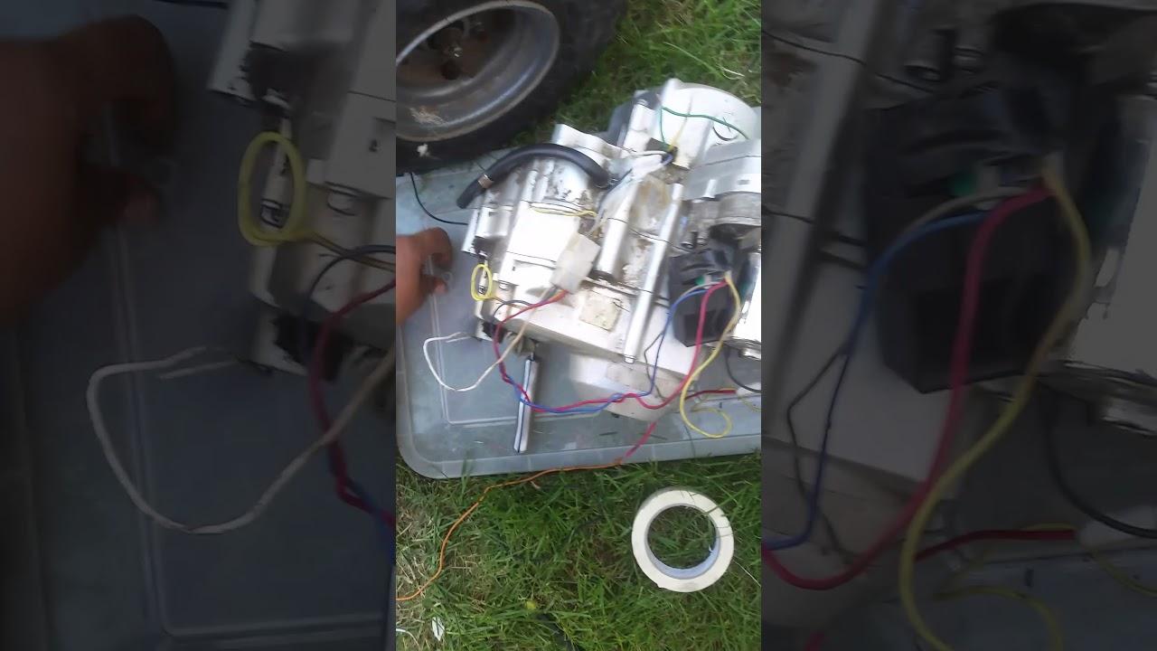 50cc Chinese quad simple engine wiring - YouTube on scooter wiring, suzuki atv wiring, pocket bike wiring, 150cc atv wiring, 110cc wiring, 125cc atv wiring, honda atv wiring,