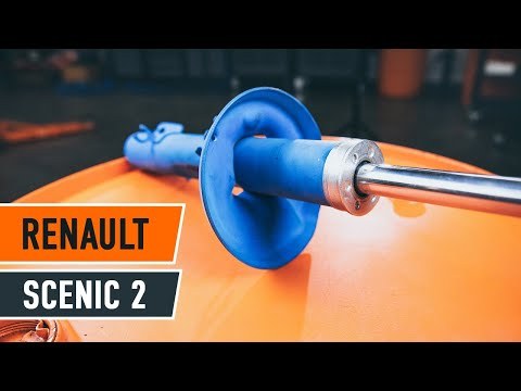 Comment remplacer des amortisseurs avant sur une RENAULT SCÉNIC 2 TUTORIEL