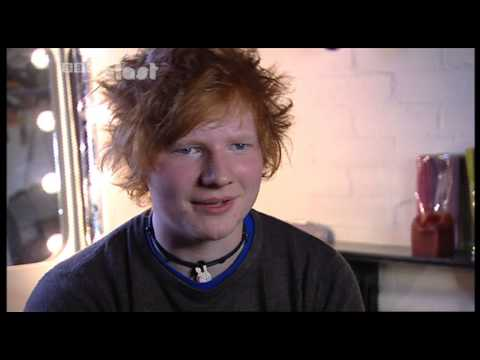 Ed Sheeran (first TV interview before he was famous)