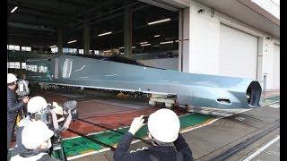 世界最速の新型新幹線試験車両を公開