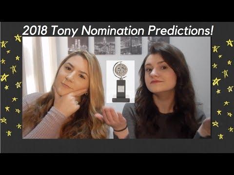 2018 Tony Nomination Predictions! (Musicals)