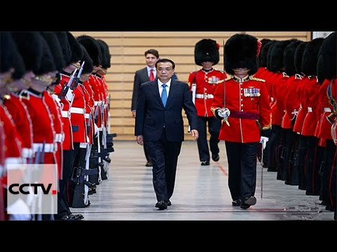 Premier Li Keqiang makes his first visit to Canada